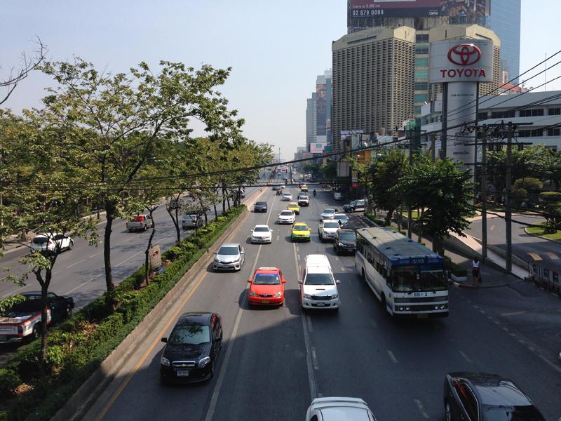 都会なバンコク
