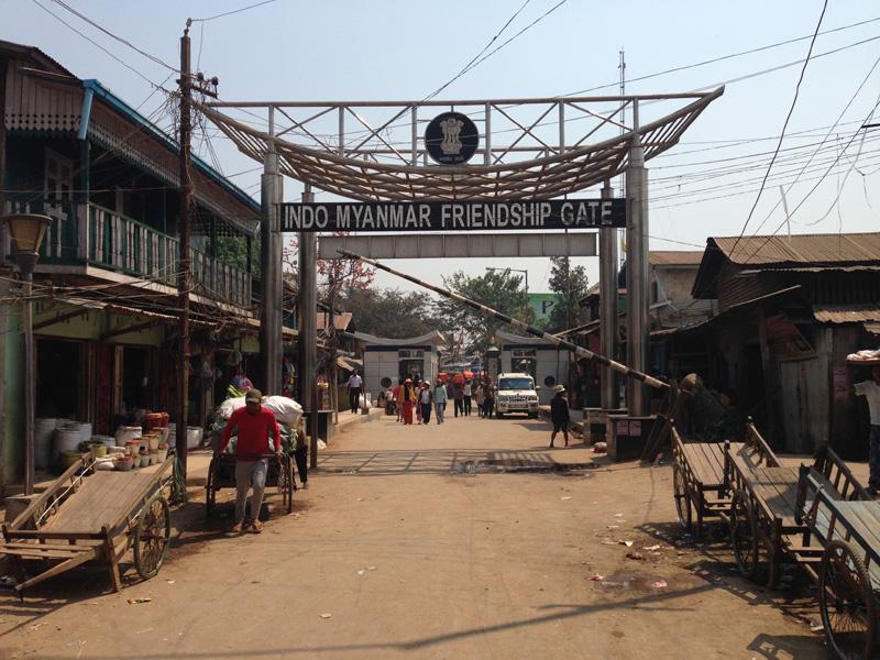 インド‐ミャンマー国境