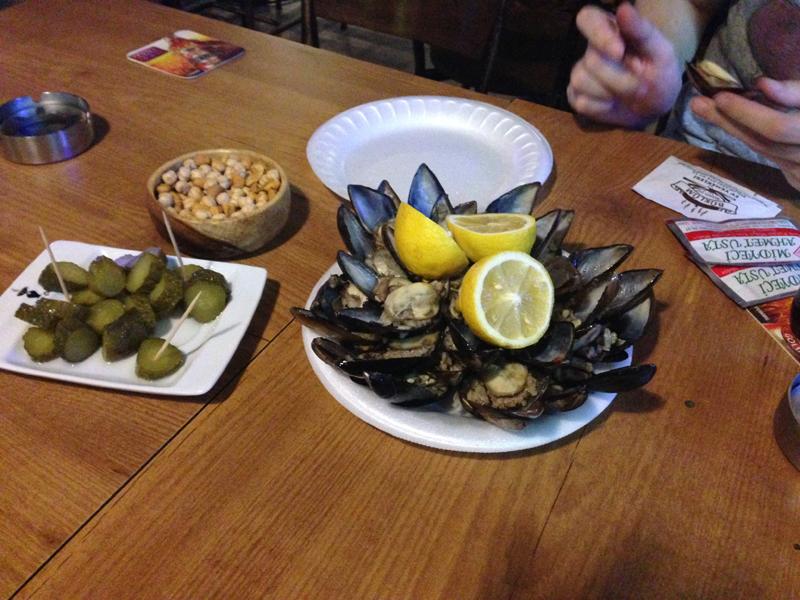 一般的なトルコでの牡蠣の食べ方